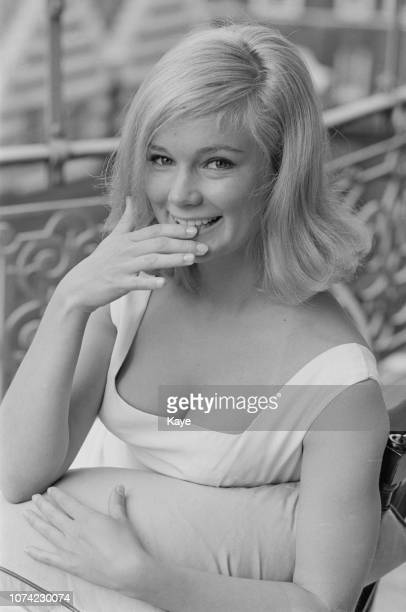 American actress Yvette Mimieux who currently appears in the film 'Toys in the Attic' posed in London on 13th July 1963