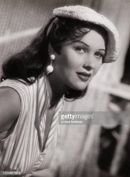 American actress Yvonne de Carlo Germany late 1950s