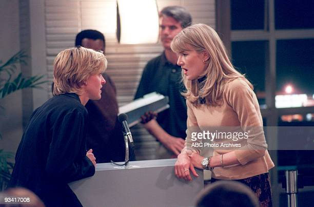 ELLEN 'The Puppy Episode' Part 1 2 Season Four 4/30/97 In this 'Coming Out' episode Ellen overcame years of denial and became attracted to Susan a...
