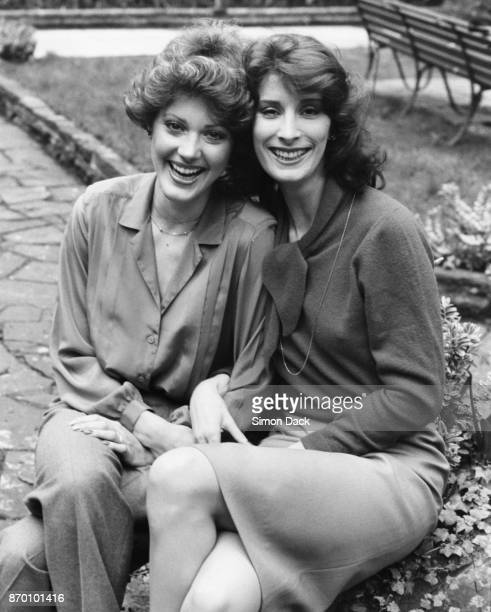 American actresses Lise Hilboldt and Lillian Silverstone stars of the television miniseries 'Nancy Astor' in London England 18th March 1981 They play...