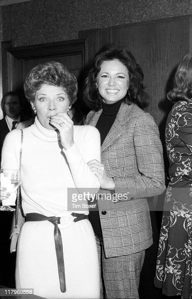 American Actresses Polly Bergen And Jo Ann Pflug Attend