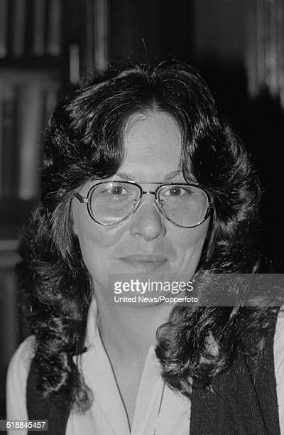American adult film actress Linda Lovelace aka Linda Susan Boreman in London on 6th April 1981.