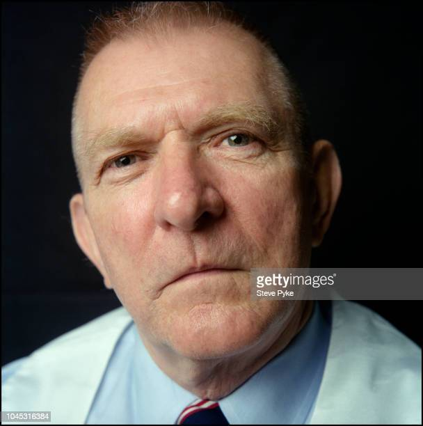 American aerospace engineer retired fighter pilot and former NASA Flight Director and manager Gene Kranz at the Nasa Mission Control Center Houston...