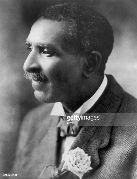 American agricultural chemist and educator Dr George Washington Carver circa 1910
