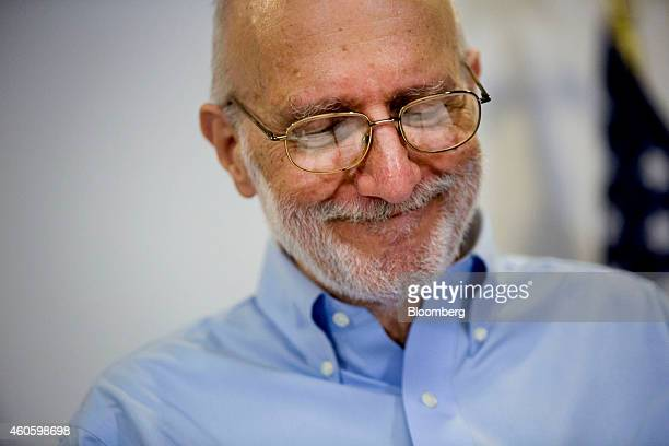 American aid worker Alan Gross, a former Cuban prisoner released on humanitarian grounds, pauses while speaking at a news conference in Washington,...