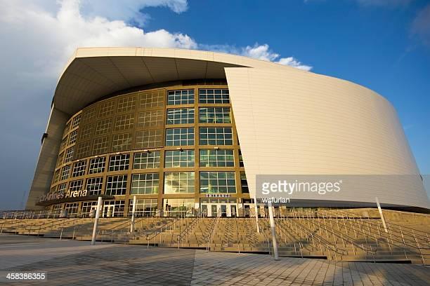american airlines arena - miami heat equipo de baloncesto fotografías e imágenes de stock