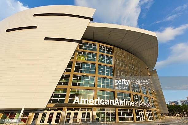 american airlines arena - miami heat basketball team stock pictures, royalty-free photos & images