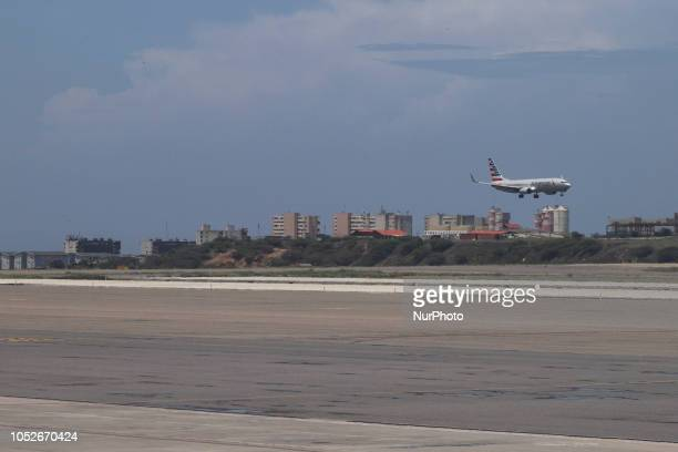 American Airlines Boeing 737800 with aircraft registration N801NN seen in Caracas Simón Bolívar International Airport Venezuela American Airlines...