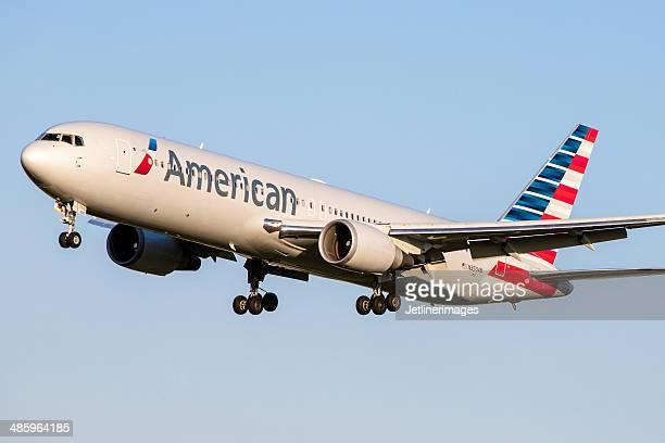 american airlines boeing 767-300/er - american airlines stock-fotos und bilder