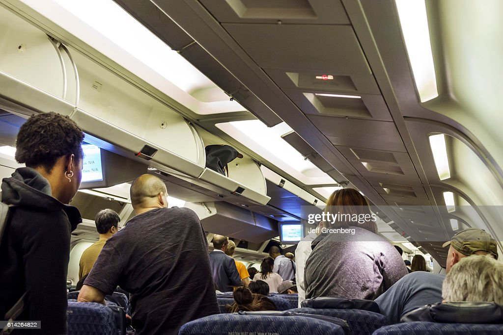 American Airlines cabin interior. Pictures | Getty Images