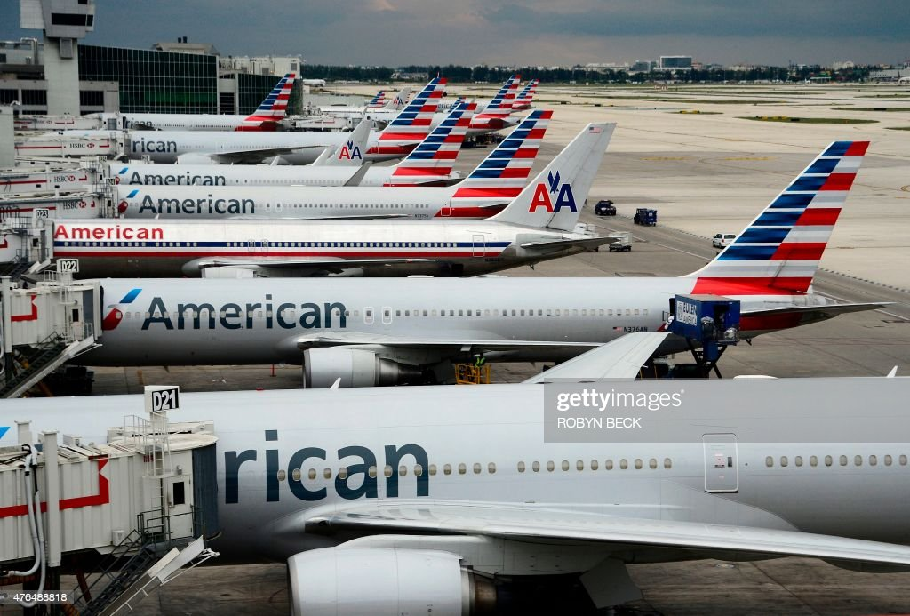 US-AVIATION-AMERICAN AIRLINES : News Photo