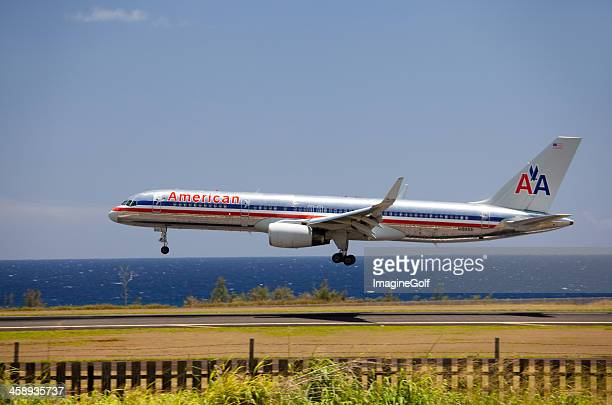 American Airlines Plane Landing