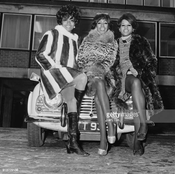 American allfemale singing group The Supremes London UK 24th January 1968