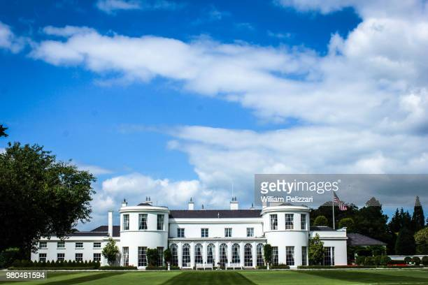 american ambassador's residence - phoenix park - ambassador stock pictures, royalty-free photos & images