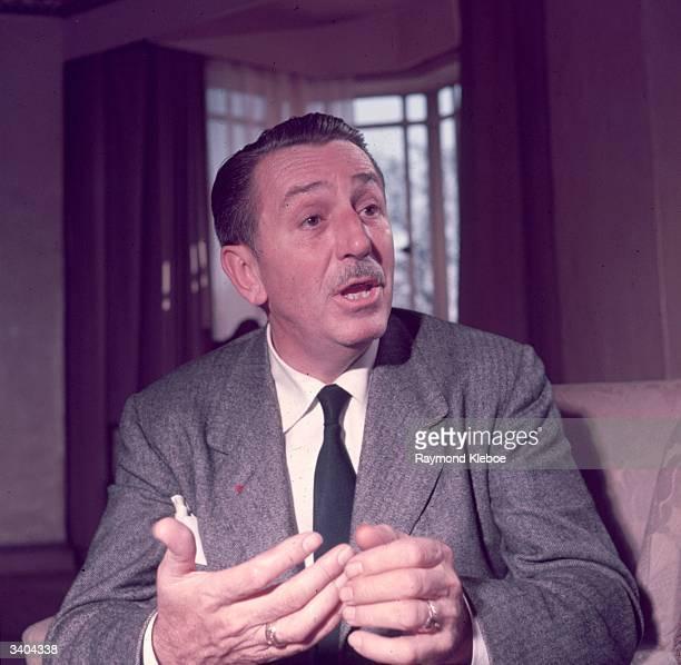 American animator and film producer Walt Disney Original Publication Picture Post 7067 Walt Disney unpub