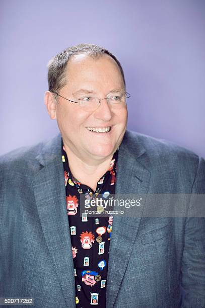 American animator, film director, screenwriter, producer and the chief creative officer of Pixar Animation Studios John Lasseter poses for a portrait...