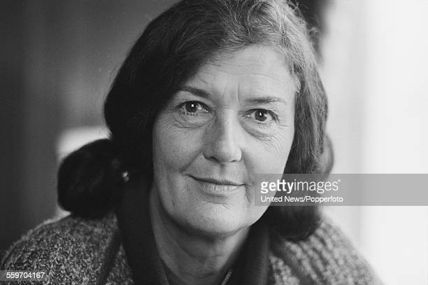 American anthropologist and zoologist Dian Fossey pictured in London on 13th February 1984