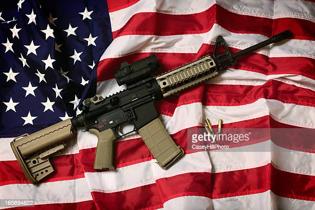 american ar-15 - gun stock pictures, royalty-free photos & images