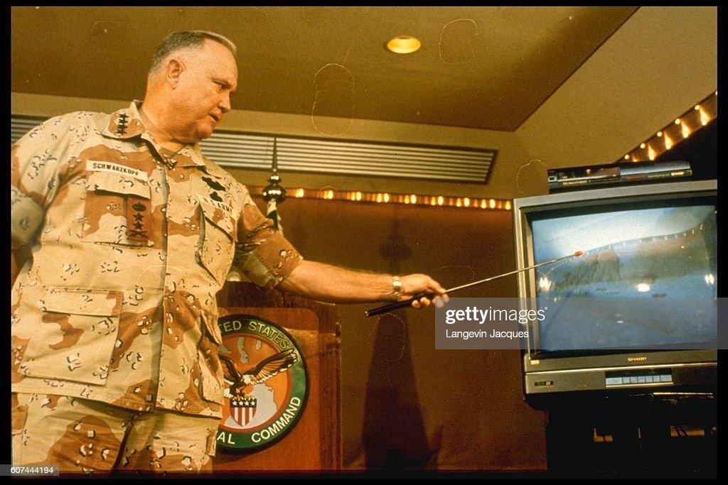 Situation in Riyadh during the Gulf War : News Photo