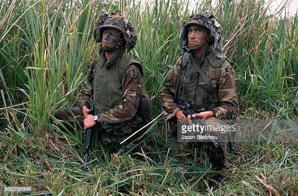 American Army troops arrive in Panama to depose former ally Manuel Noriega.