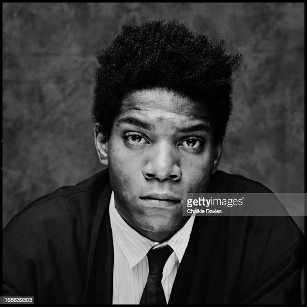 American artist Jean Michel Basquiat London 1984