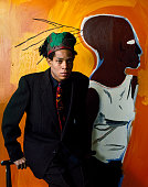 American artist jeanmichel basquiat new york 1985 picture id500931899?s=170x170