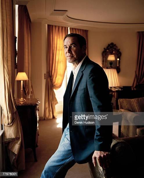 American artist Jeff Koons in his suite at the Bristol Hotel on October 5 2007 in Paris