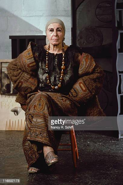 American artist Louise Nevelson June 1980