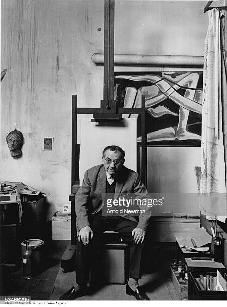 American artist Man Ray poses for portrait in his studio May 1, 1960 in Paris, France.