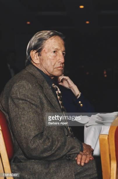 American artist Robert Rauschenberg , New York City, circa 1993.