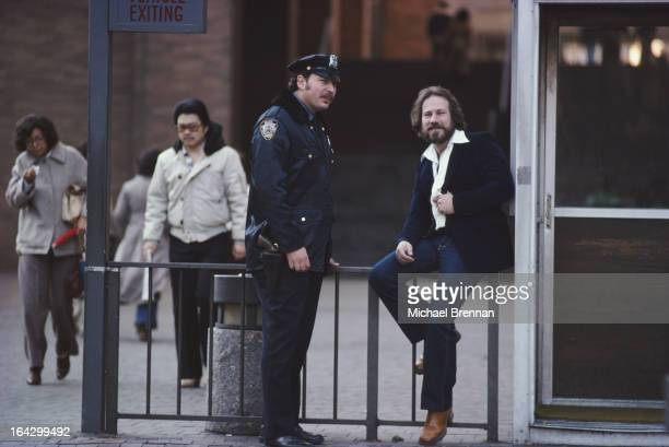American artist Robert Volpe who is also a detective specialising in art theft New York City December 1979
