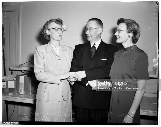 American Association for Health Physical Education and Recreation convention 10 April 1952 Doctor Clifford Brownell Doctor Bernice Moss Doctor Ruth...