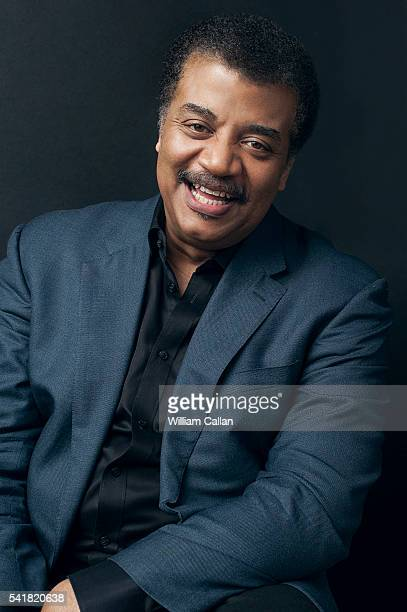 American astrophysicist cosmologist author and science communicator Neil DeGrasse Tyson is photographed for The Wrap on June 3 2016 in Los Angeles...