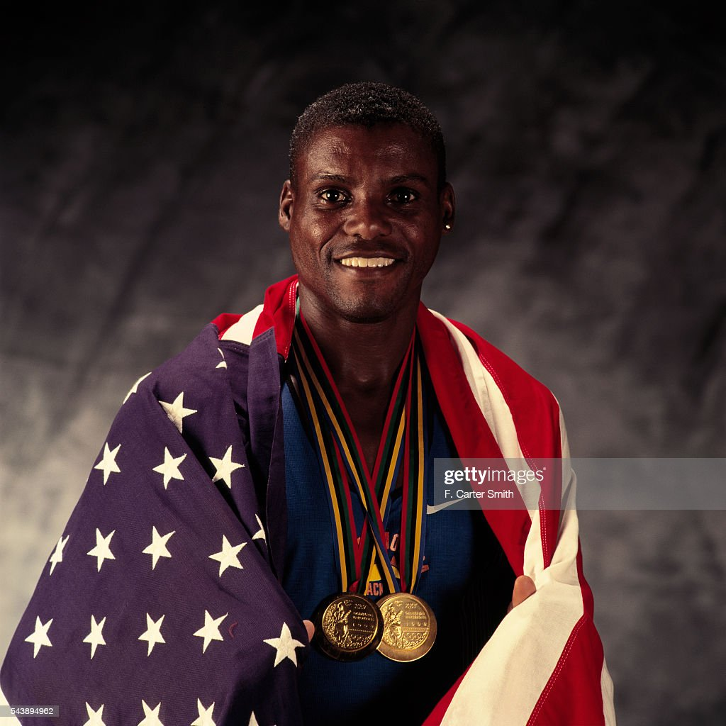 American Athlete Carl Lewis