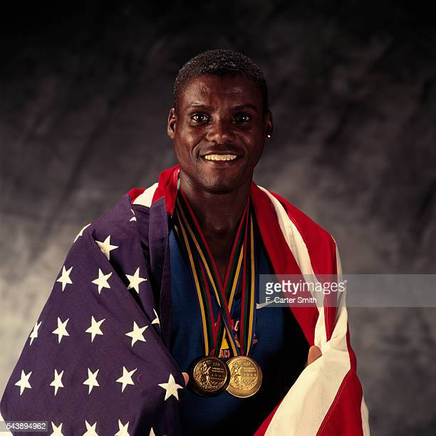 American Athlete Carl Lewis