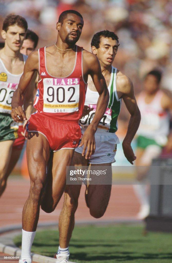Men's 800 Metres Event At XXIII Summer Olympics : ニュース写真
