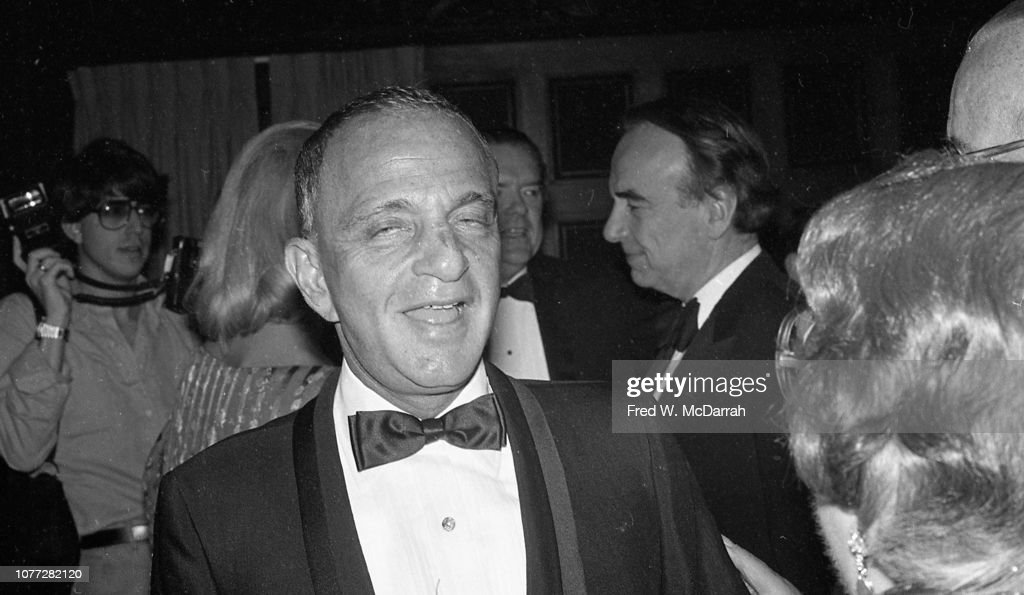 Roy Cohn At His Birthday Party : News Photo