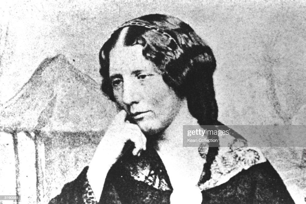 Harriet Beecher Stowe : News Photo