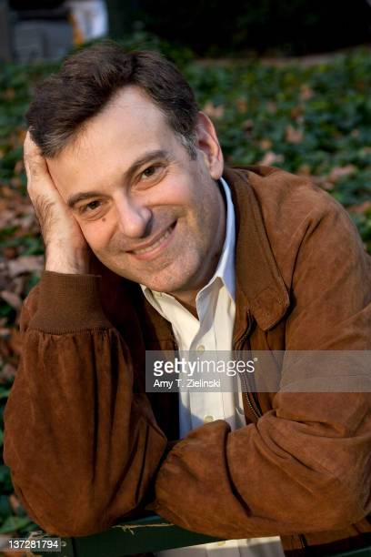American author and academic John Matteson poses for the author photo for his first book 'Eden's Outcasts The Story of Louisa May Alcott and Her...