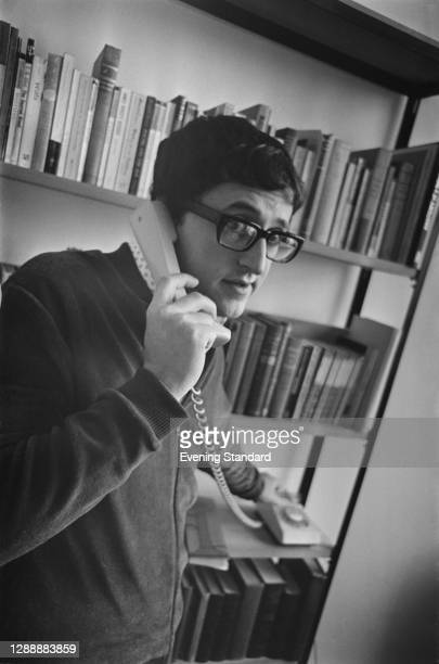 American author and columnist Donald Carroll , UK, December 1967.
