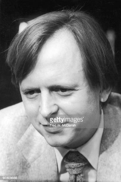American author and journalist Tom Wolfe at the AJ Liebling CounterConvention New York New York April 23 1972 The convention named after noted media...