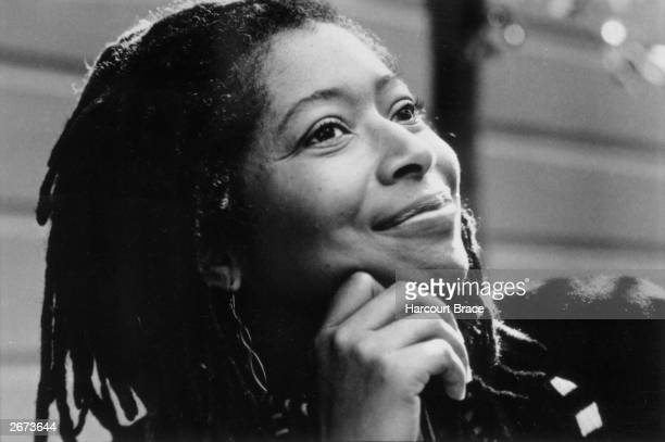 American author and poet Alice Walker