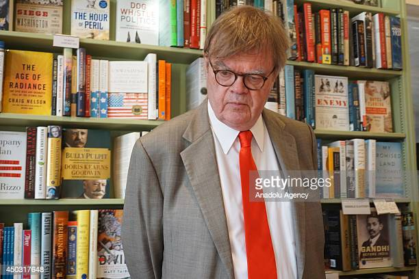 American author and poet Garrison Keillor is seen in autograph session of his new book 'The Keillor Reader' in Los Angeles United States on 7 June...