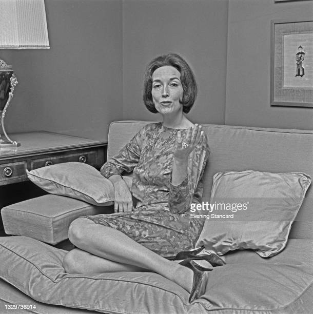 American author and publisher Helen Gurley Brown , UK, 24th October 1964. Her book 'Sex and the Single Girl' was published in 1962 and became an...