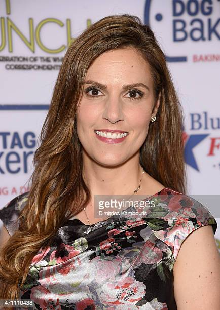 American author and veteran family activist Taya Kyle attends the 2015 Annual Garden Brunch at the BeallWashington House on April 25 2015 in...