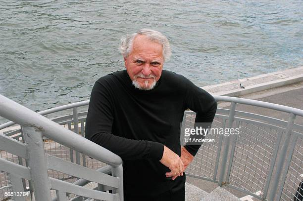 American author Clive Cussler poses while on a visit to ParisFrance on the 13th of September 2004