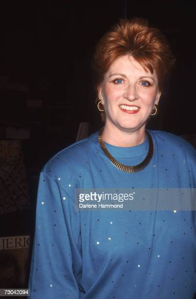 American author Fannie Flagg holds a booksigning party at Hunter Books in Beverly Hills November 1987