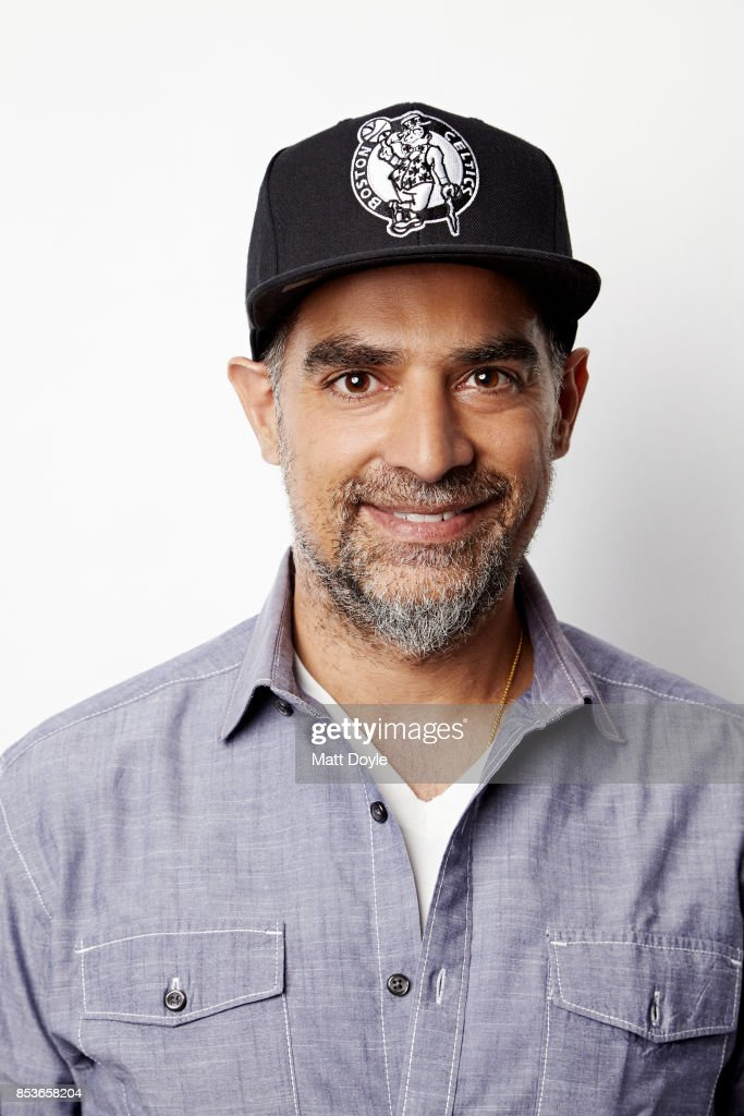 American author, filmmaker and entrepreneur Gotham Chopra poses for a portraits at the Tribeca TV festival at Cinepolis Chelsea on September 22, 2017.