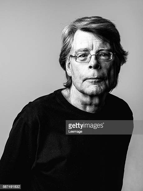 American author of contemporary horror, suspense, science fiction and fantasy, Stephen King.