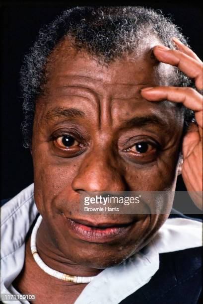 American author playwright and Civil Rights activist James Baldwin New York New York 1979